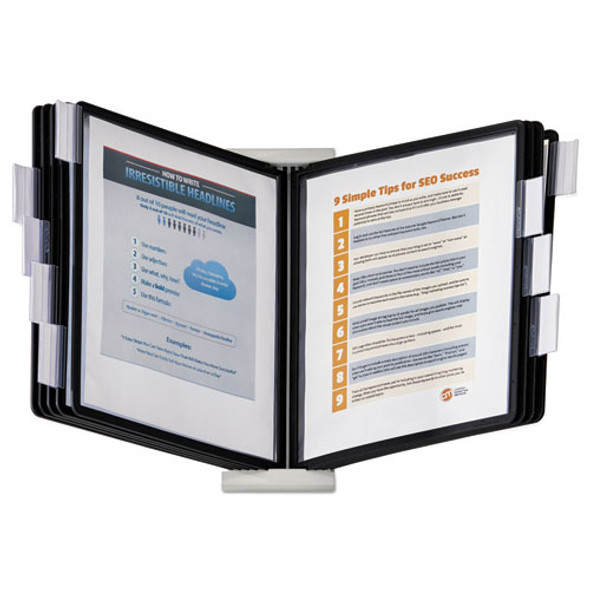 Durable InstaView Expandable Desktop Reference System