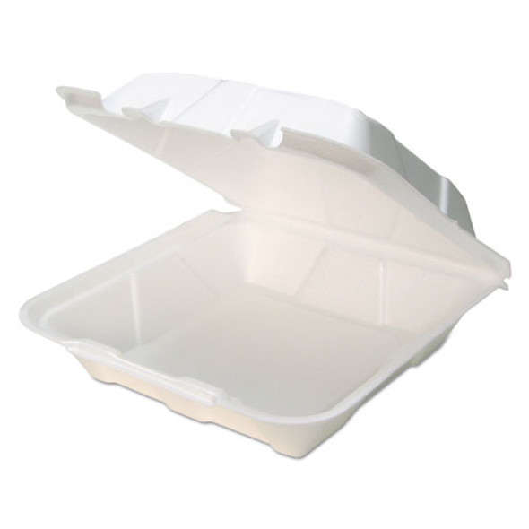 Pactiv Foam Hinged Lid Containers - PCTYTD19901