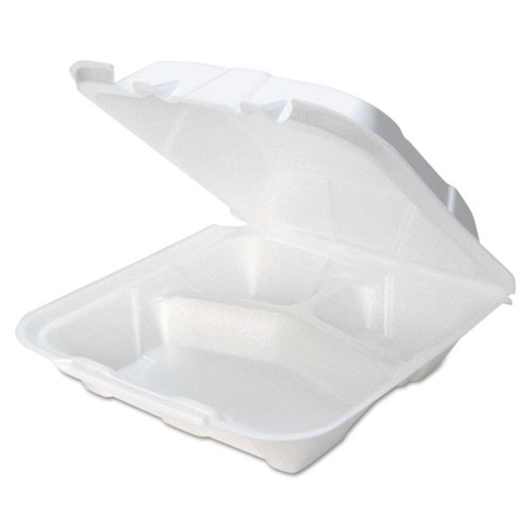 Pactiv Foam Hinged Lid Containers - PCTYTD19903