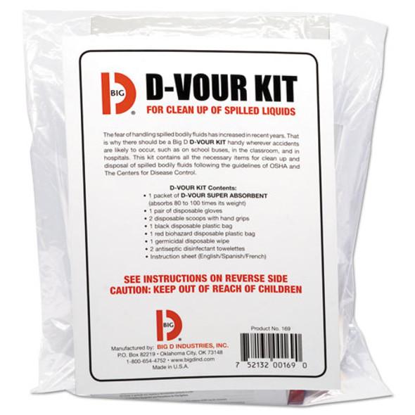 Big D Industries D'vour Clean-up Kit