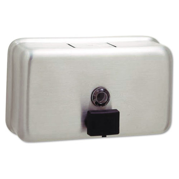 Bobrick ClassicSeries Surface-Mounted Soap Dispenser
