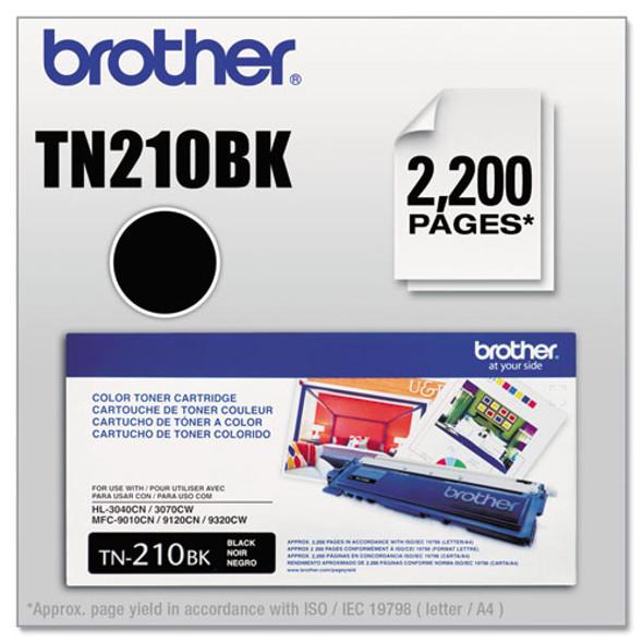 Brother BRTTN210BK, BRTTN210C, BRTTN210M, BRTTN210Y Toner - BRTTN210BK