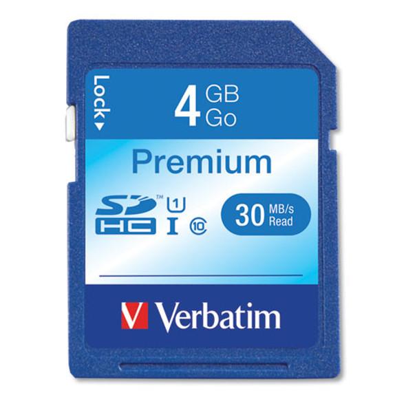 Verbatim Premium SDHC Cards - VER96171