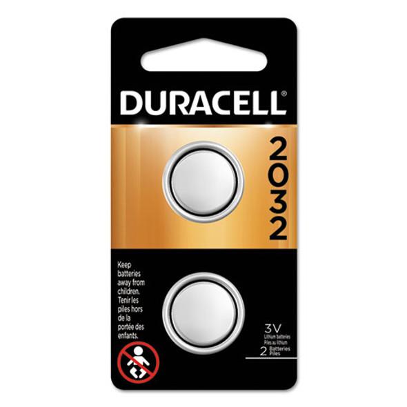 Duracell Lithium Coin Batteries - DURDL2032B2PK