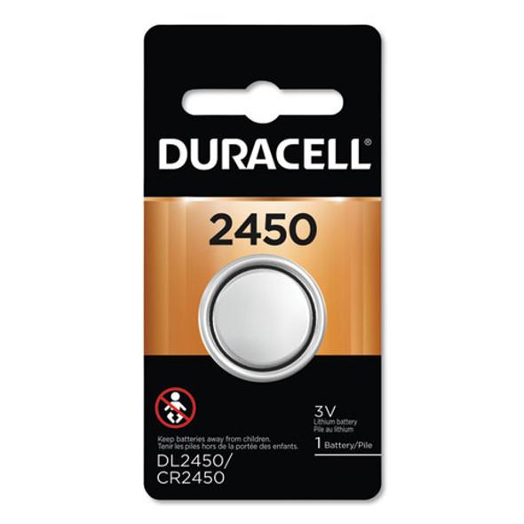 Duracell Lithium Coin Batteries - DURDL2450BPK