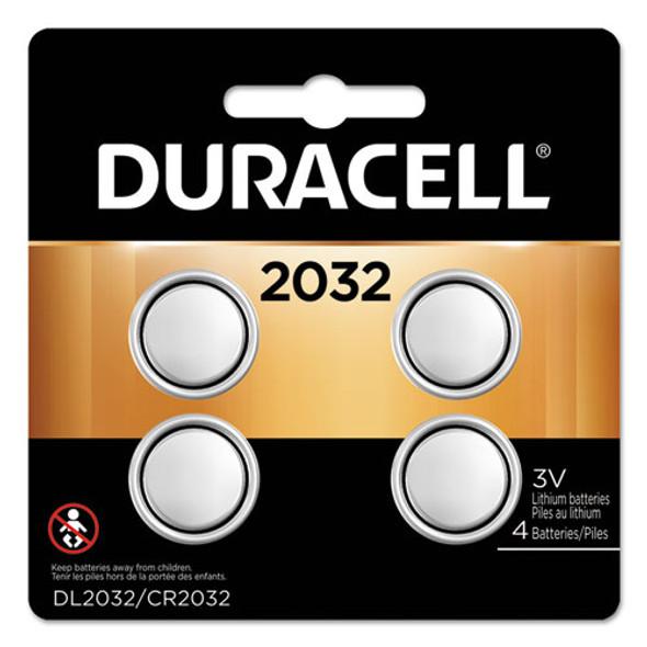 Duracell Lithium Coin Batteries - DURDL2032B4PK