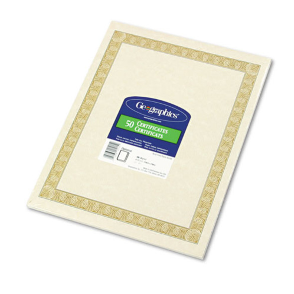 Geographics Archival Quality Parchment Certificates - GEO21015