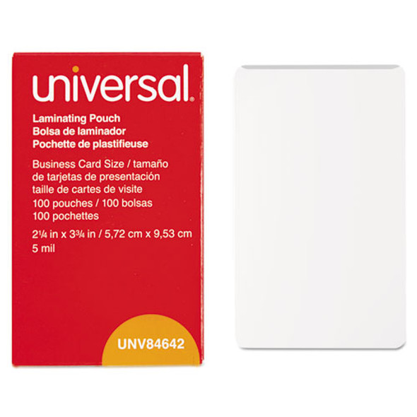 Universal Laminating Pouches - UNV84642