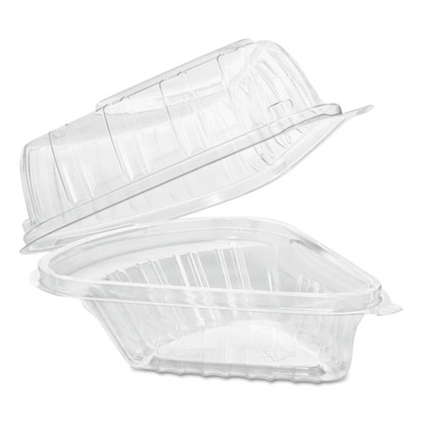 Dart Showtime Clear Hinged Containers - DCCC54HT1