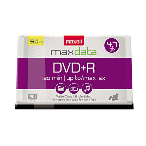 Maxell DVD+R High-Speed Recordable Disc - MAX639013