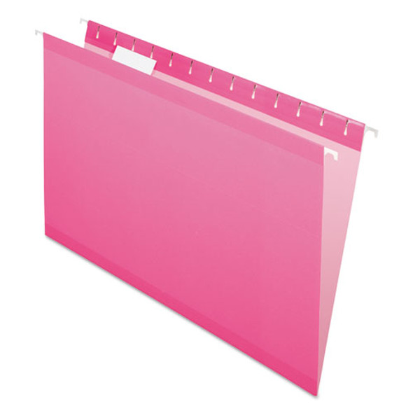 Pendaflex Colored Reinforced Hanging Folders - PFX415315PIN