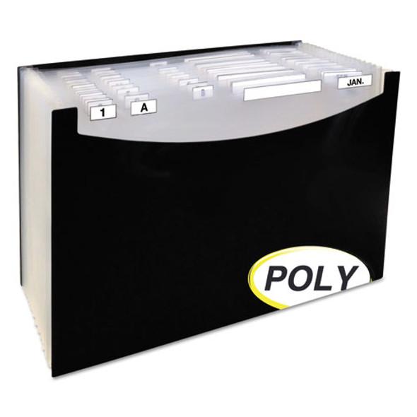 C-Line 21-Pocket Stand-Up Design Expanding File