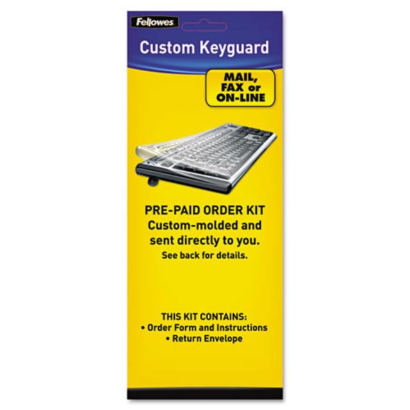 Fellowes Custom Keyguard Keyboard Kit