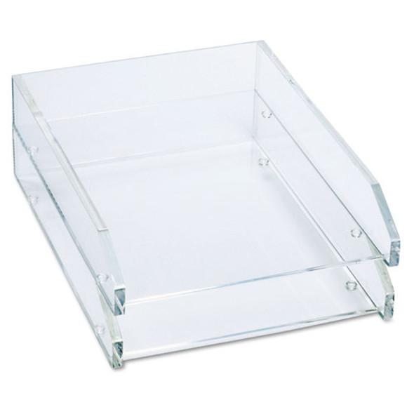 Kantek Clear Acrylic Letter Tray