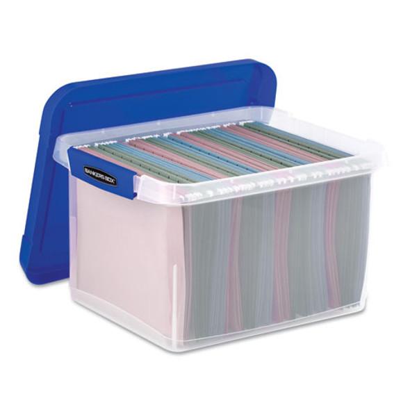 Bankers Box Heavy Duty Plastic File Storage - FEL0086201