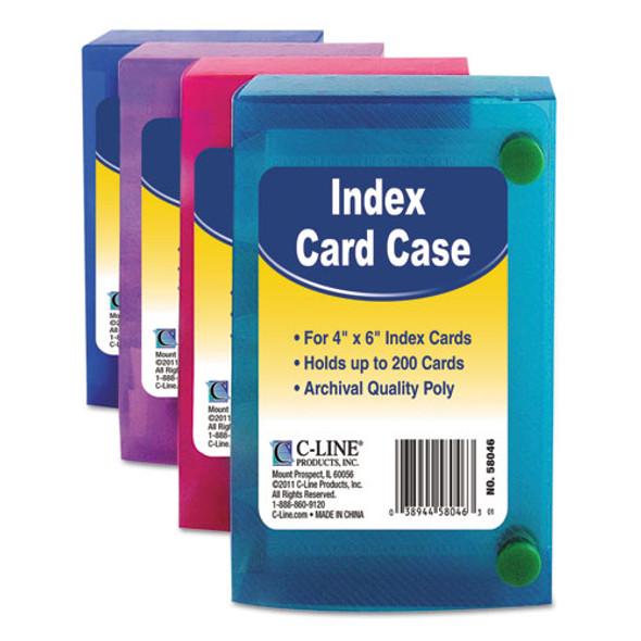C-Line Index Card Case - CLI58046