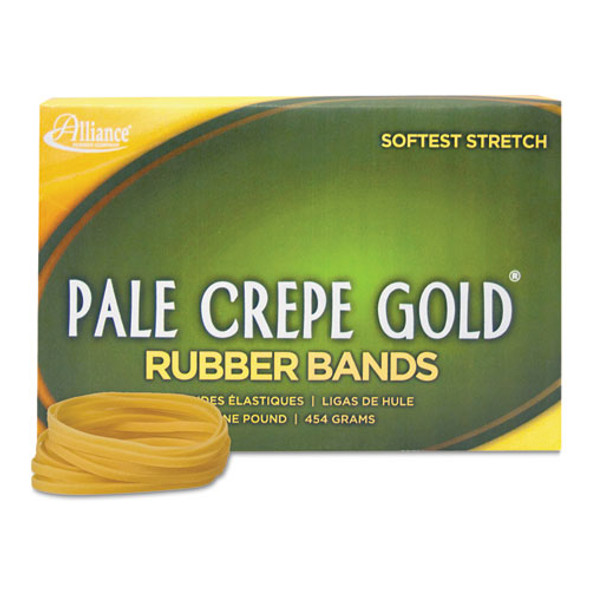 Alliance Pale Crepe Gold Rubber Bands - ALL21405