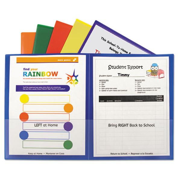 C-Line Classroom Connector Folders