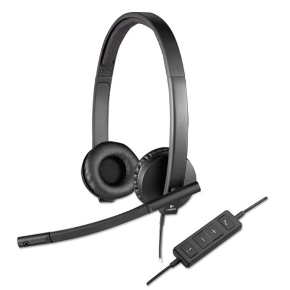 Logitech USB H570e Over-the-Head Wired Headset