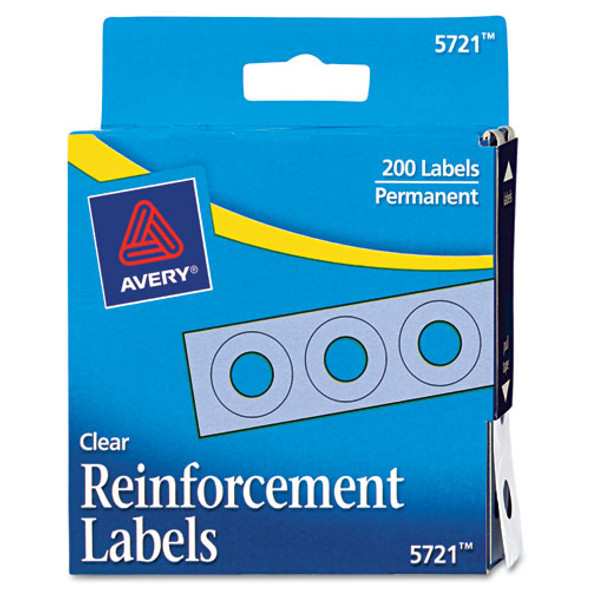 Avery Binder Hole Reinforcements in Dispenser - AVE05721