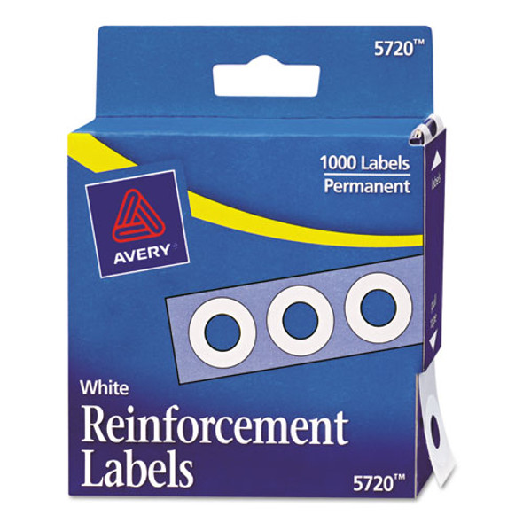 Avery Binder Hole Reinforcements in Dispenser - AVE05720