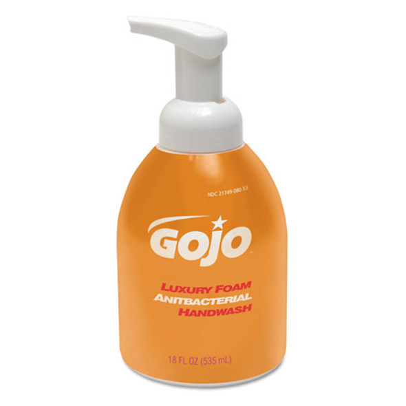 GOJO Luxury Foam Antibacterial Hand Wash