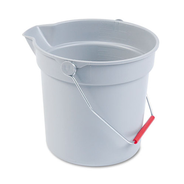Rubbermaid Commercial BRUTE Round Utility Pail - RCP296300GY