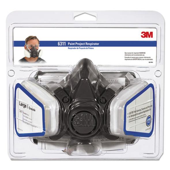 3M Half Facepiece Paint Spray/Pesticide Respirator - MMM6311PA1A