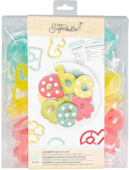 Sweet Sugarbelle Cookie Cutter Set 27/Pkg Alphabet