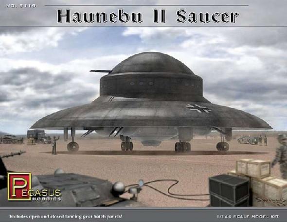 Pegasus Hobbies 1/144 Haunebu II German WWII UFO Saucer 9119