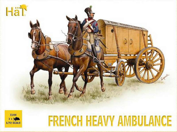 Model Figures - French Heavy Ambulance- 1:72 -HAT Industrie