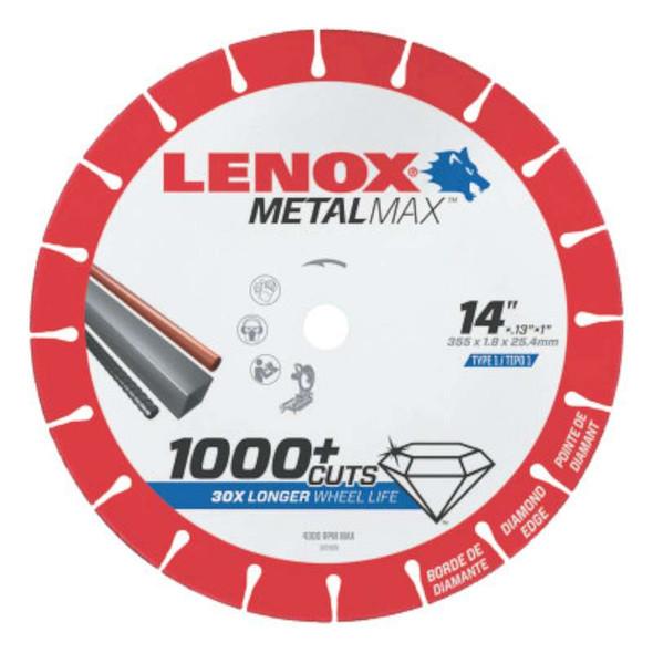 Lenox® MetalMax™ Cut-Off Wheels