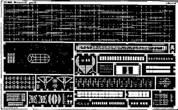 1/350 Ship- Bismarck for TAM