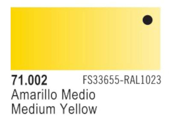 Vallejo Yellow Paint, 17ml