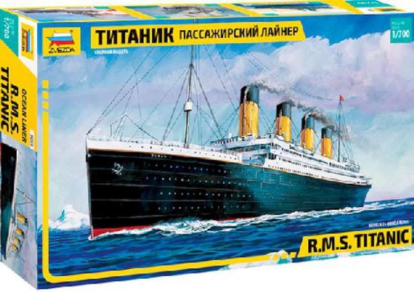 Zvezda 1/700 R.M.S. Titanic #9059