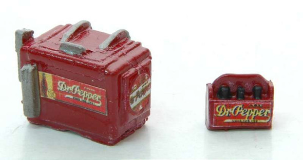 JL Innovative Design Chest Soda Machine and Case Dr. Pepper -- Model