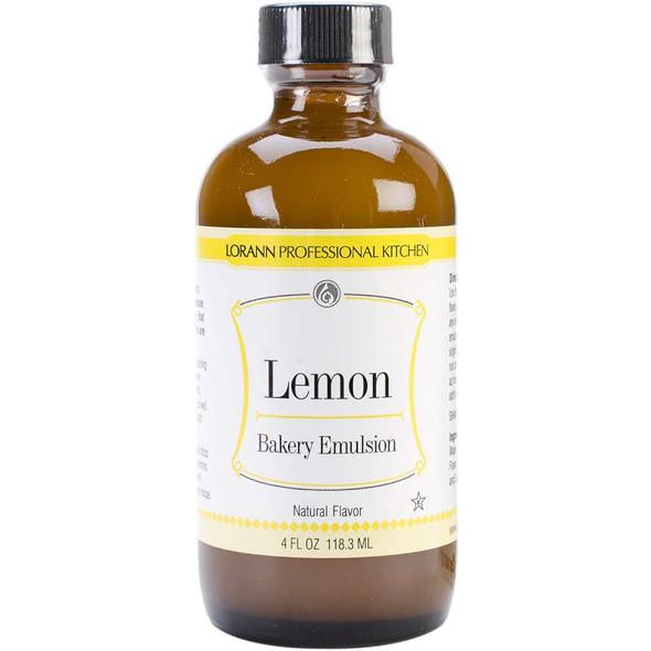 Bakery Emulsions Natural & Artificial Flavor 4oz Lemon
