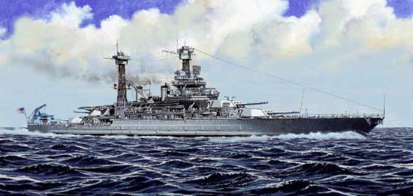Trumpeter 1/700 USS California BB44 Battleship 1941 5783
