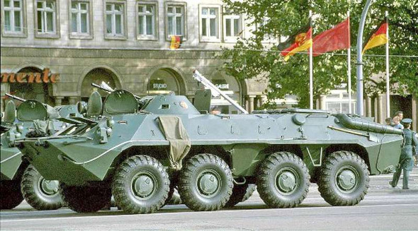 Ace Military Model Kit - Soviet BTR-70 Armored Personnel Carrier, Late Pro