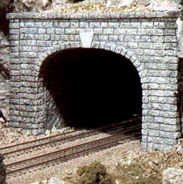 Woodland Scenics C1157 N Double Tunnel Portal Cut Stone 2