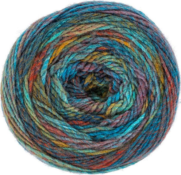 Red Heart Yarn Roll With It Melange Paparazzi