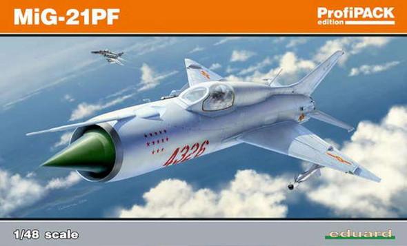 1/48 MiG21PF Fighter (Profi-Pack Plastic Kit)