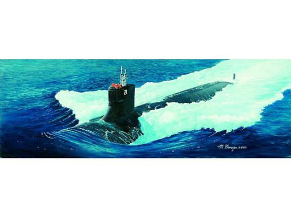 05904 1/144 USS SSN-21 Sea Wolf Submarine Multi-Colored