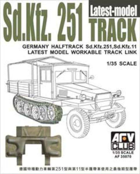 Sd.Kfz.251 Workable Track Latest Type- 1:35 -AFV Club