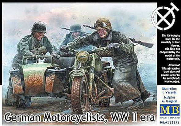 1/35 German Motorcyclists WWII Era (4)
