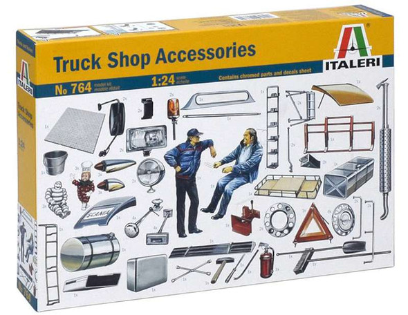 Italeri 1/24 Truck Shop Accessories 0764S