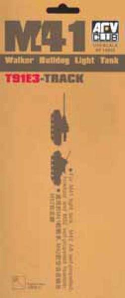 M41 Walker Bulldog T91E3 Track- 1:35 -AFV Club