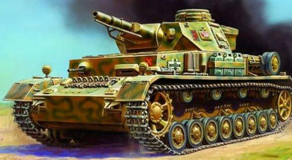 Zvezda - 6151 1/100 PZ IV Ausf.D - Plastic Model