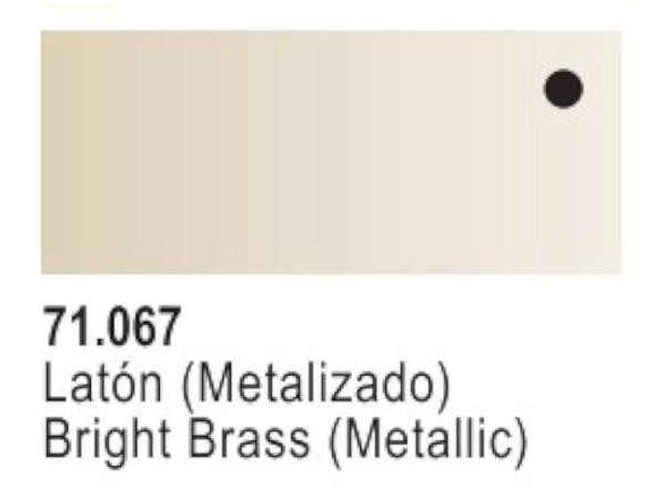 Vallejo Bright Brass Paint, 17ml