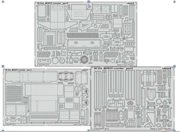 1/35 Armor- HEMTT Exterior for ITA
